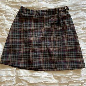 NWOT Plaid Brandy Melville Skirt